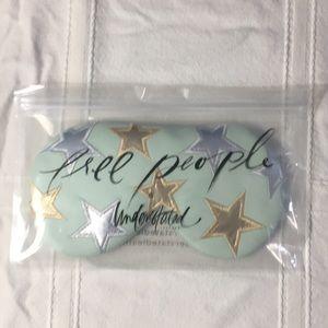 3/$15 Free People genuine leather eye mask